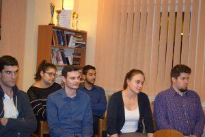 Dr. Deák Csaba az egyetem kancellárja volt vendégünk