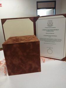 A Miskolci Egyetem kitüntette a Roma Szakkollégiumot